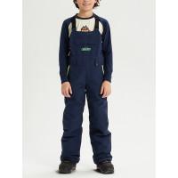 Burton SKYLAR BIB DRESS BLUE dětské kalhoty na snb - XL