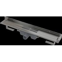 Alcaplast APZ16-650 Wall podlahový žlab v.95mm kout min. 700mm pro plný rošt a s pevným límcem ke stěně (APZ16-650)