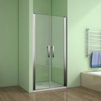 Sprchové dveře MELODY D2 100 dvoukřídlé 96-100 x 195 cm - výstavní vzorek