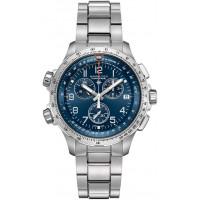 Hamilton Khaki X-Wind GMT Chrono Quartz H77922141
