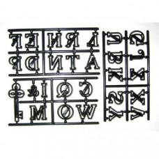 Patchwork, Abeceda, velká písmena a klíč