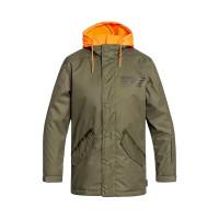 Dc UNION olive night dětská zimní bunda - 12/L
