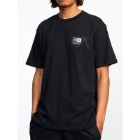 RVCA EVERLAST STACK black pánské tričko s krátkým rukávem - M
