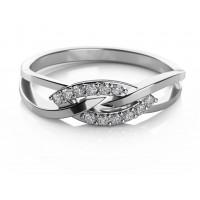 Couple Zlatý dámský prsten Emma 6860565 Velikost prstenu: 55
