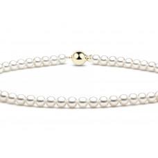 Zlato Perlový dámský náhrdelník 7540014