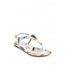 GUESS sandálky Carmela floral bílé vel. 37,5