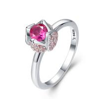 OLIVIE Stříbrný prsten RŮŽIČKA 2960 Velikost prstenů: 8 (EU: 57 - 58)