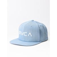 RVCA TWILL III DENIM BLUE pánská kšiltovka