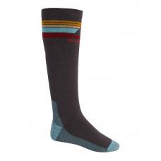 Burton EMBLEM MDWT DARK SLATE kompresní ponožky - M