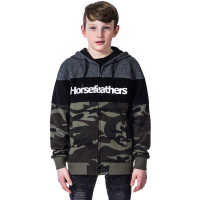 Horsefeathers TREVOR WOODLAND dětská mikina - XL