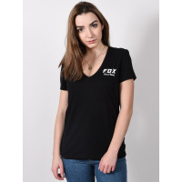 Fox Speed Thrills black dámské tričko s krátkým rukávem - S