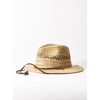 Quiksilver JETTYSIDE NATURAL pánský plátěný klobouk - L/XL