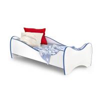 Dětská postel Duo modrá - HALMAR