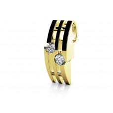 Zlato Zlatý dámský přívěsek Asu 6820274