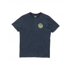 RVCA SEAL MOODY BLUE pánské tričko s krátkým rukávem - XL