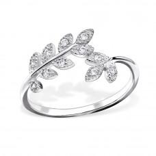 OLIVIE - stříbrný prsten 0149 Velikost prstenů: 5 (EU: 47 - 50)
