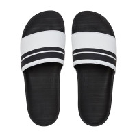 Quiksilver RIVI SLIDE WHITE/BLACK/WHITE pánské pantofle - 42EUR