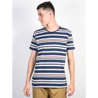 Ezekiel Malpaso Multistripe Blue pánské tričko s krátkým rukávem - M