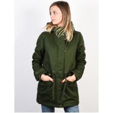 Element MISTY TWILL OLIVE DRAB zimní bunda dámská - XS