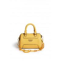 GUESS kabelka Terra Mini Barrel Bag žlutá vel.
