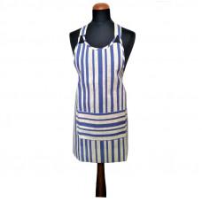 Kuchyňská zástěra Proužky s kapsou