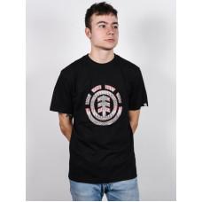 Element SEEKER ICON FLINT BLACK pánské tričko s krátkým rukávem - XL