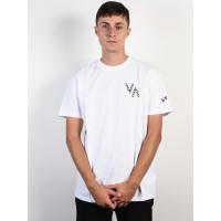 RVCA VA EAGLE white pánské tričko s krátkým rukávem - L
