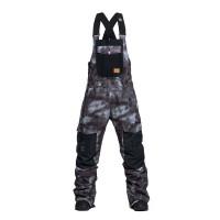 Horsefeathers MEDLER gray camo zateplené kalhoty pánské - S