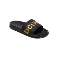 Dc SLIDE SE BLACK/GOLD dámské pantofle - 40,5EUR