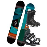 Gravity EMPATIC 3 pánský snowboardový set