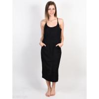 RVCA CECE black společenské šaty krátké - XS