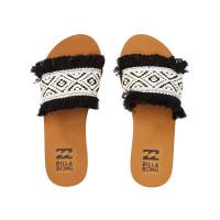 Billabong ONE WAY BLACK WHITE dámské pantofle - 36EUR