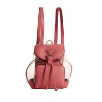 GUESS batoh Originals Lucite Backpack růžový vel.