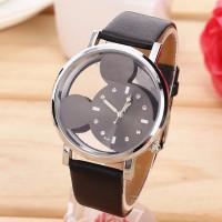 Dětské hodinky Mickey mouse - 2 barvy Barva: Černé