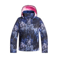 Roxy JETTY GIRL MEDIEVAL BLUE SPARKLES dětská zimní bunda - 10/M