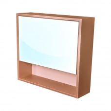 CEDERIKA - Amsterdam galerka 1x výklopné barva zrcadlo v AL rámu korpus korpus metallic měděný šíře 75 (CA.G1V.193.075)