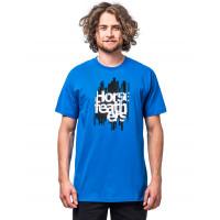 Horsefeathers RAGGED IMPERIAL BLUE pánské tričko s krátkým rukávem - XL