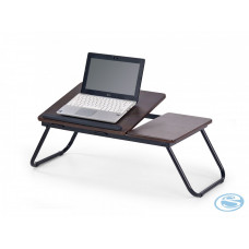 PC stůl B-19 tmavý ořech - HALMAR