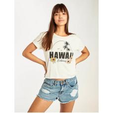 Billabong REMIX COOL WIP dámské tričko s krátkým rukávem - M