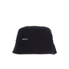 RVCA DROP IN THE washed black dámský plátěný klobouk