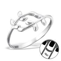 OLIVIE - stříbrný prsten 0135