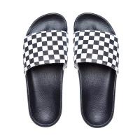 Vans SLIDE-ON (Checkerboard) white pánské pantofle - 42EUR