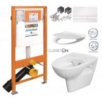 JOMO - SET JOMO Duofix modul pro závěsné WC + tlačítko + montážní sada + sedátko + WC CERSANIT CLEANON PARVA (174-91100900-00 PA2)
