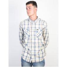 RVCA TREETS MIRAGE pánská košile dlouhý rukáv - M