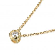 Couple Zlatý dámský náhrdelník Kirsty 3840114-0-45-99