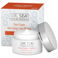 DR. SEA Retinol Anti-Aging / Anti-Wrinkle Face Cream Dry & Very Dry Skin 50ml