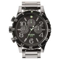 Nixon 48-20 CHRONO POLISHEDGUNMETALLUM pánské hodinky analogové