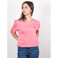 Billabong SO MUCH ALHOA GYPSY PINK dámské tričko s krátkým rukávem - S