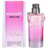 Mugler Womanity Aqua Chic 2013 toaletní voda 50ml Pro ženy