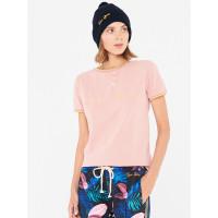 Femi Stories COSMA PNK dámské tričko s krátkým rukávem - S